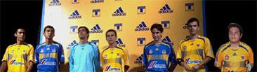 Uniforme Adidas de Tigres