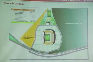 Proyecto de Estadio en Tampico