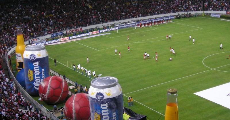 Deporte + cerveza = Gran publicidad