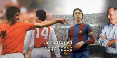 Johan Cruyff: Genio del fútbol en todo sentido